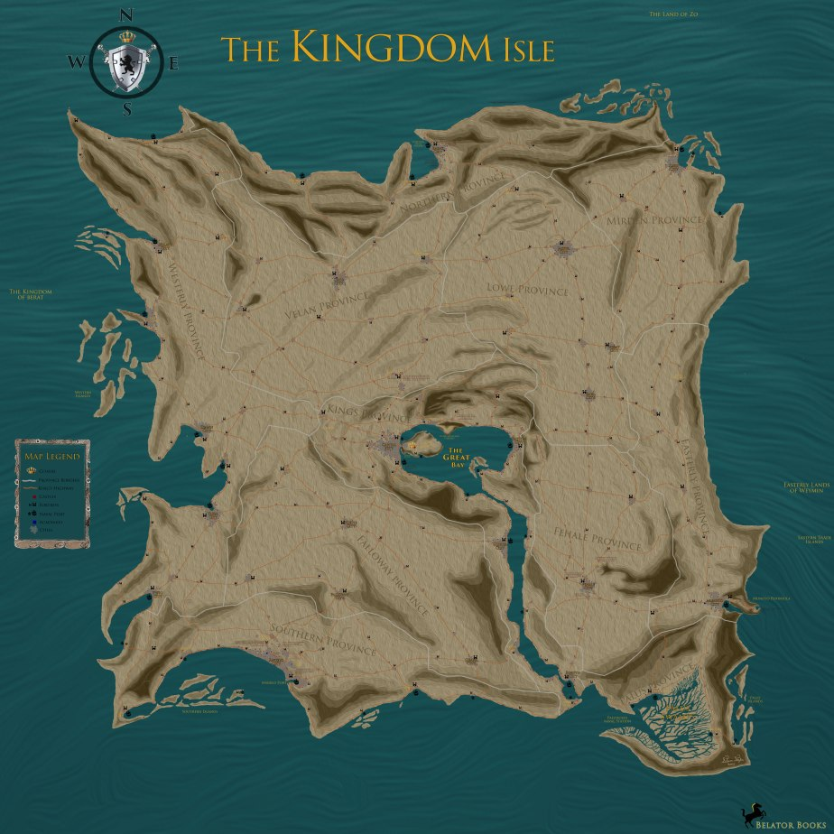 The official Kingdom Isle Map 2014